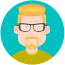 Illustration of male avatar