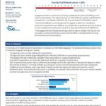 Employee Engagement Sample Fulfilment Score Report