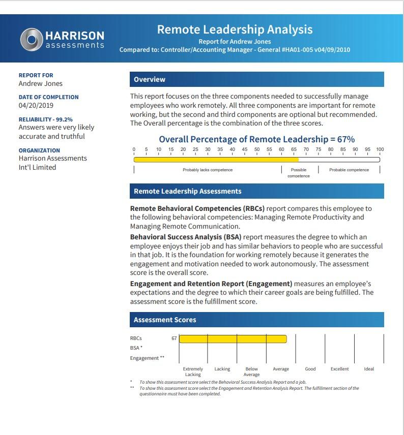 Remote-Leadership-Analysis-Sample-Report