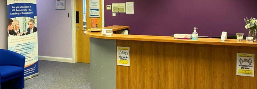 CMD Group Reception Area