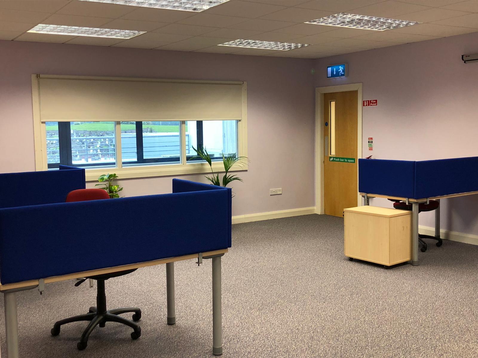 CMD Remote Working Hub room