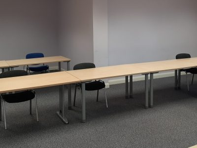 Small Training Room with social distancing